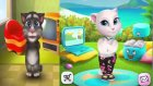 My Talking Tom And Angela | Abc Song & English Children's Songs