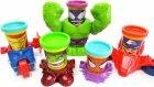 Play-Doh Marvel Süper Kahramanlar Oyun Seti | Yeşil Dev Hulk Örümcek Adam Demir Adam Kaptan Amerika