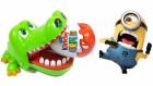 Timsah Croc Dişçide Minyonları Yakalamaya Çalışıyor | Kinder Sürpriz Yumurtalardan Minyonlar Çıkıyor