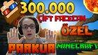 ÇİFT FACECAM! VE HEYECANDAN BAYILDIM! - Minecraft Parkur - 300.000 Abone Özel Video!