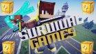 ELMAS SETLERİN SAVAŞI! (Minecraft : Şans Blokları Survival Games #1)