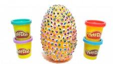 Oyun Hamurundan Üzeri Renkli Gözlerle Dolu Dev Sürpriz Yumurta |  Thomas ve Arkadaşları Lalaloopsy
