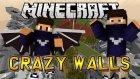 ZORLU OYUN VE HİLE ? - Crazy Walls - Minecraft Çılgın Duvarlar