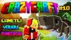 Minecraft - Çılgın Modlarla Survival! (Crazy Craft) - LANETLİ YAVRU DİNOZOR!  : Bölüm 10