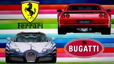 City Car Driving // Ferrari Berlinetta ile Bugatti Veyron