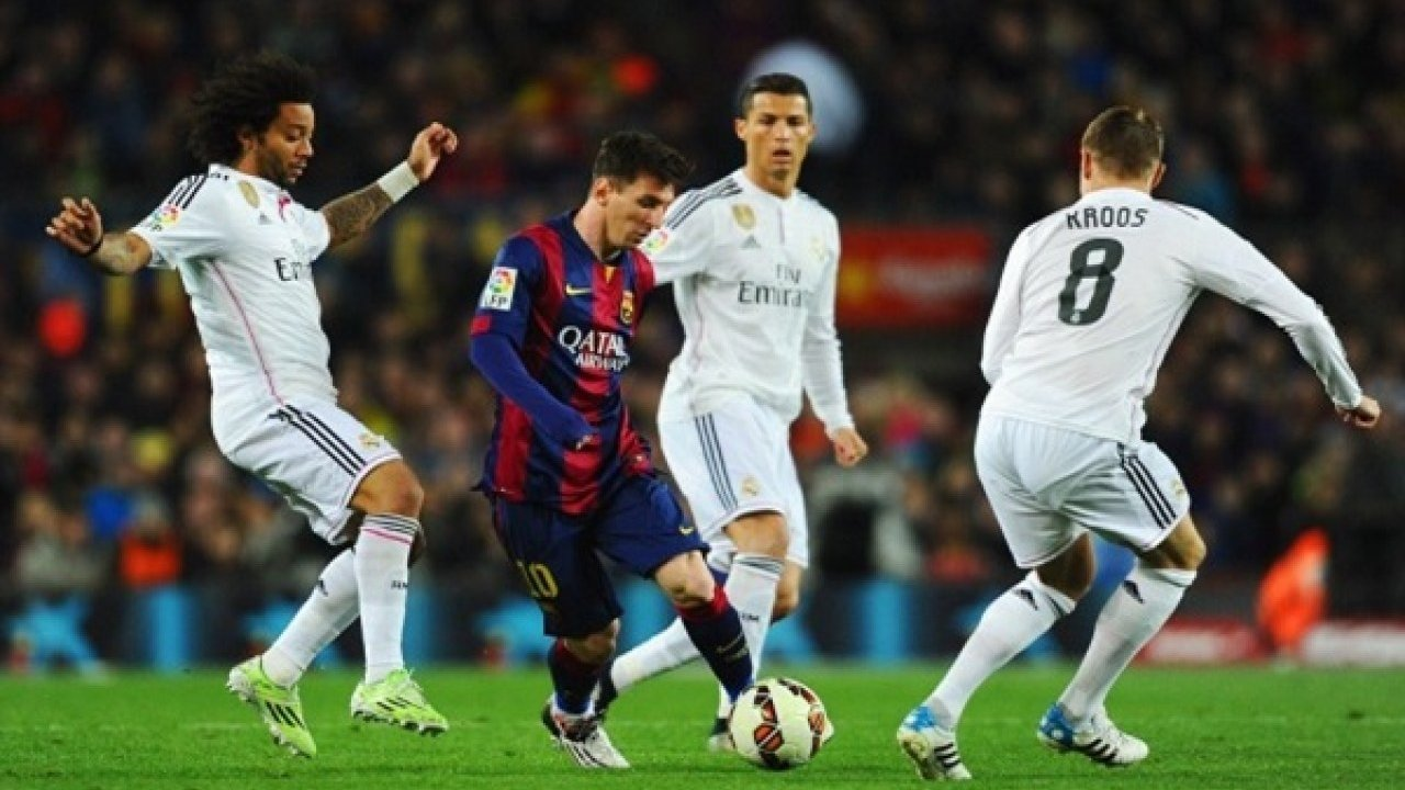 Футбол реал мадрид против барселоны