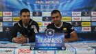 Business Cup 2015 Güz Dönemi l Konya l VAKIFBANK - ZİRAAT BANKASI - BASIN TOPLANTISI