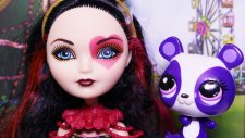 Ever After High -Lizzie Hearts - LPS Minişler Penny Ling Harikalar Diyarinda - EvcilikTV