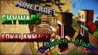 Türkçe Minecraft - Skywars #8 ( Arkalanmak Sinirden Ağladım )