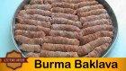 Burma Baklava Tarifi