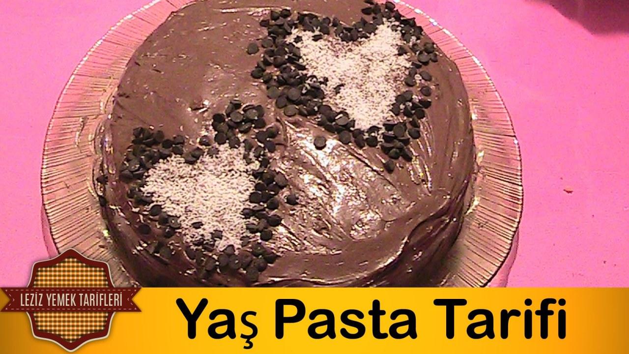 Kakaolu Yaş Pasta Tarifi Videosu