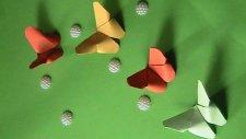Elişi Kağıdından Kelebek Yapımı