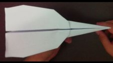 Kağıttan Savaş Uçağı Yapımı - Origami Fighter Aircraft