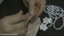 Kurdeleden Orkide Çiçeği Yapımı