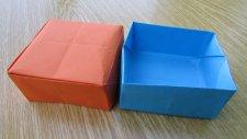 Origami Kutu Yapımı (Sesli Anlatım)