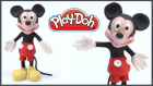 Play-Doh ile Mickey Mouse Yapmak | Oyun Hamurundan Mickey Fare Nasıl Yapılır?