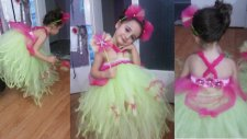 Tütü Elbise Nasıl Yapılır - Prenses Modeli