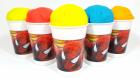 Spiderman Örümcek Adam bardaklarında play-doh oyun hamurundan dondurmaların içine gizlenmiş sürpriz