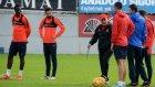 Trabzonspor yan top çalıştı