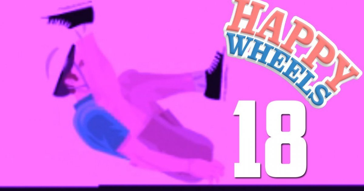 happy wheels 18