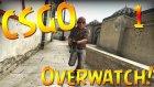 CSGO DA HİLE BANLAMAK! - Overwatch #1