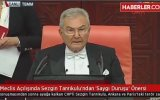 Meclis Açılışında Sezgin Tanrıkulu  Saygı Duruşu Önerisi