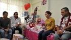 Antalyasporlular minik Azra'yı ziyaret etti