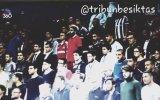 Beşiktaş Taraftarından Örnek Saygı Duruşu