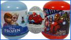Frozen Karlar Ülkesi Avengers Yenilmezler ve Spiderman Örümcek Adam Sürpriz Yumurtaları