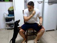 Köpeğe İlacı Ters Psikoloji Uygulayarak İçirmek