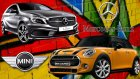 Direksiyon Seti ile City Car Driving // Mercedes-Benz ile Mini Cooper