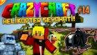 Minecraft - Çılgın Modlarla Survival (Crazy Craft) - HELİKOPTER SEYAHATİ! : Bölüm 14