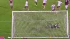 Dzeko'nun penaltıdan attığı gol