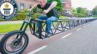 Guinness Rekorlar Kitabı'na Giren Dünyanın En Uzun Bisikleti