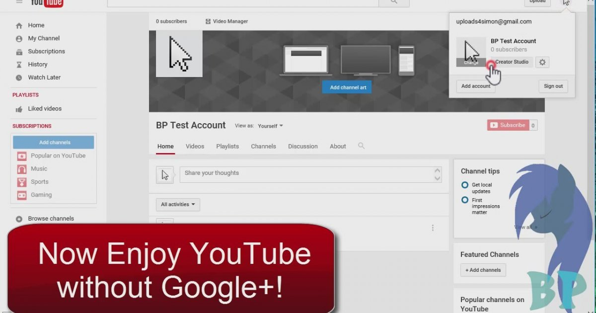how to download videos from your youtube channel