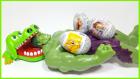 Timsah Croc Dişçide Oyuncağı Yeşil Dev HULK'u Yemek Üzere | Tom ve Jerry Sürpriz Yumurta