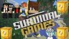 PRO İKİLİ TAKIM VS ISMETRG ! (Minecraft : Şans Blokları Survival Games #2)