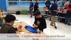 Rubik Küpünü 4.90 Saniyede Çözen Gençten Yeni Dünya Rekoru