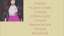 TLF feat Indila Criminel Paroles