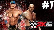 WWE 2K16 Kariyer - Başlıyooz - Bölüm 1