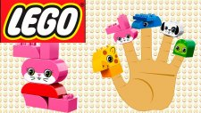 Lego Zoo Finger Family Şarkısı