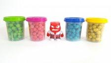 Play-Doh Oyun Hamuru Sürpriz Yumurtaları Thomas ve Arkadaşları Ters Yüz 6 Süper Kahraman Jake