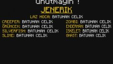 Canavarlar Okulu: Yüzme Sınavı - Minecraft Türkçe Animasyon