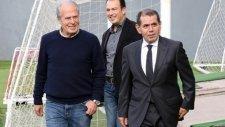 Dursun Özbek ve Mustafa Denizli Madrid'e gittiler