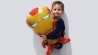 Dev Demir Adam Balonu | Yusuf Emir'in Büyük Iron Man Balonuyla Eğlencesi