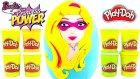 Barbie Süper Kahraman DEV Sürpriz Yumurta Açma Oyuncak Abi