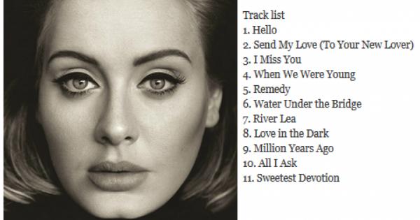 Adele - Remedy (2015 Yepyeni)