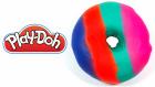 Play-Doh Oyun Hamurundan Rengarenk Donut Nasıl Ypılır?