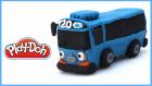 Sevimli Otobüs Tayo | Play-Doh Oyun Hamurundan Tayo Nasıl Yapılır?