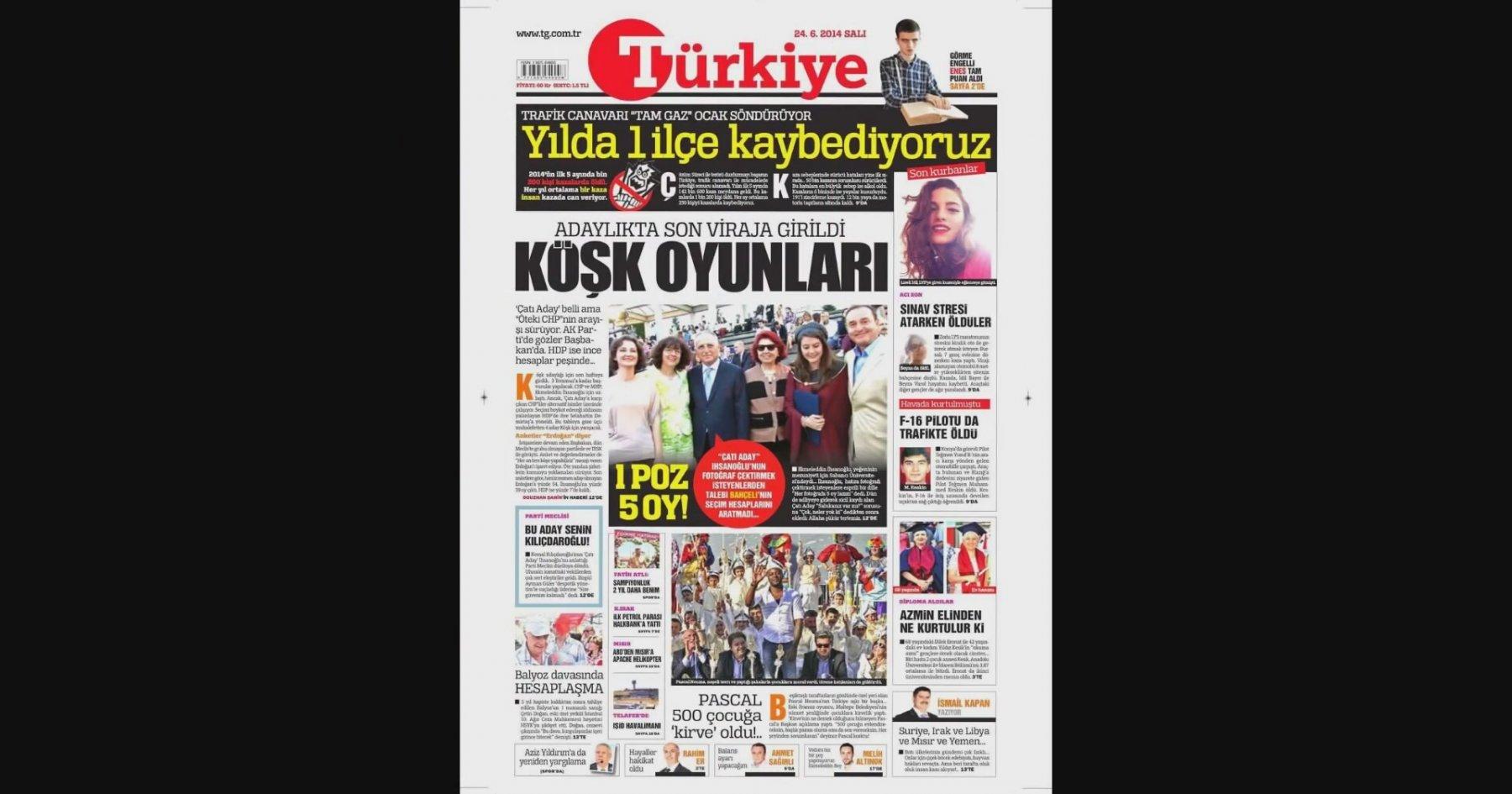 Gazete Keyfi - Gazete Oku (24.06.2014 Gazete Manşetleri) | İzlesene.com